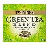 トワイニングパックあたりの緑と黒茶のブレンドティーバッグ80 (x 2) - Twinings Green and Black Tea Blend Tea Bags 80 per pack (Pack of 2) [並行輸入品]