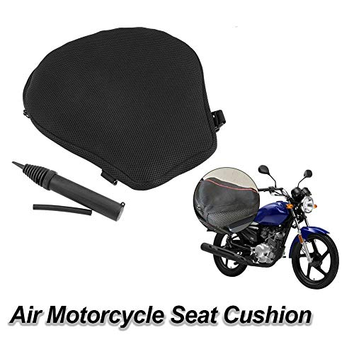 Moto, Zubehörteile, Air Pad Motorrad Sitzkissenbezug Luft Motorrad Sitzkissen Luftfüllbares Sitzpolster Air Pad Universal für Motorrad Moto, Zubehör Komponenten