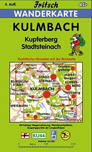 Preisvergleich Produktbild Kulmbach: Kupferberg - Stadtsteinach (Fritsch Wanderkarten 1:35000)