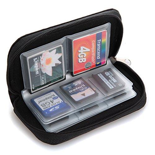 MASUNN Case Cover Pouch Case voor 22 geheugenkaarten micro SD-kaart XD