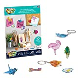 Shrinky Dinks Ruff n' Ready Creative Pack, 10 Frosted White Sheets, Kids Arts and Crafts Activity Set, Multicolor, 03600