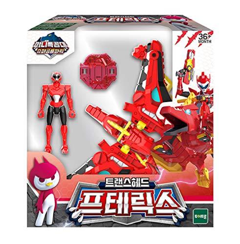MINI FORCE Miniforce Trans Head Pteryx Super Dinosaur Power Pteranodon Action Figure Toy