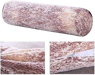 YYBF Almohada Larga de Tela para la Cama de la Columna de la Oficina de la Silla de Fondo Bolster removible Cuello Cama Almohada cilíndrica 100x20cm 7