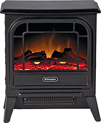 Dimplex Electric Micro-Stove, Steel, 1200 W, Black Cast Effect