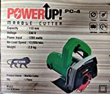 PowerUp Tile/Wood/Marble Cutter Machine 110mm 1200W 13000rpm |Green| (Hard Plastic) |1|