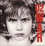 U2 – War – Poster miniature avec cadre noir