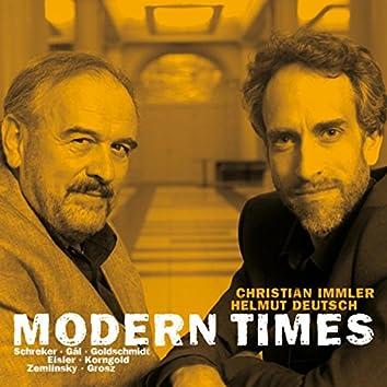 Modern Times: Songs by Schreker, Gál, Goldschmidt, Eisler, Korngold & Zemlinksy