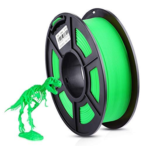 ANYCUBIC 3D Printer 1.75mm Filament PLA, 3D Printing PLA Filament 1KG Spool for 3D Printers & 3D Pens (Green)