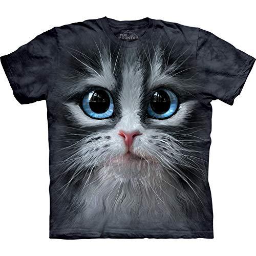 The Mountain Unisexe Adulte Visage De Chaton T Shirt M