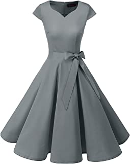 Best 1950s grey dress Reviews