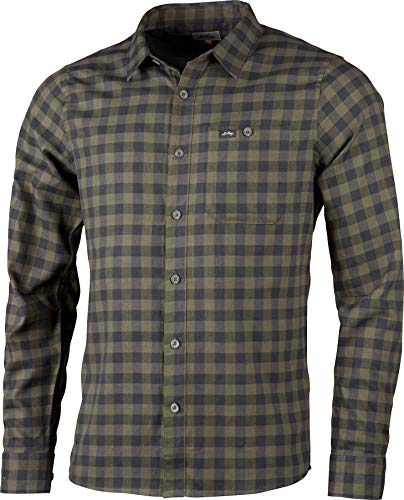 Lundhags Ekren T-Shirt Manches Longues Homme, Forest Green Modèle XL 2020 t Shirt Manches Longues