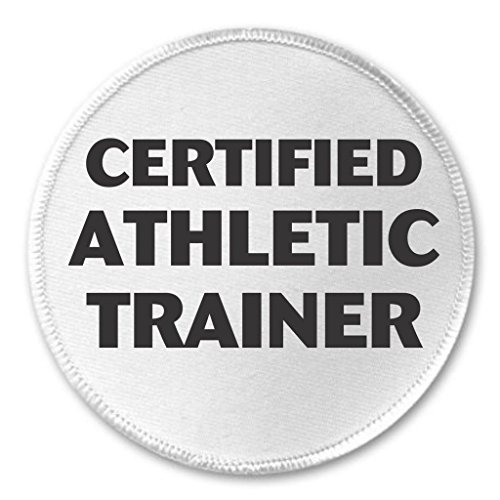 Certified Athletic Trainer 3' Sew On Patch Sports Team Coach Gym