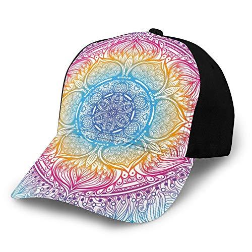 FULIYA Gorra de béisbol para hombres y mujeres, gorra deportiva ajustable con visera de sol, Color30, S-M