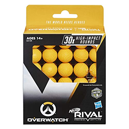 NERF Overwatch Rival 30 Round Refill Pack for Overwatch Rival Blasters