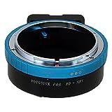 Fotodiox Pro adaptador de montura de lente Compatible con Canon FD (Old FD, New FD y FL montura Compatible con Sony E-Mount cámara sin espejo cuerpos de cámara adaptador Compatible para Sony NEX E-Mount (APS-C & Fotograma Completo como NEX-5, NEX-7 y α7)