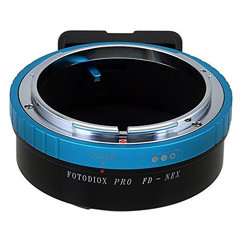 Fotodiox Pro–Adattatore, Canon FD (Old FD, nuovo FD & FL Mount Sony E-Mount fotocamera mirrorless adattatore per Sony NEX E-mount (APS-C & Full Frame, come ad esempio NEX-5NEX-7)
