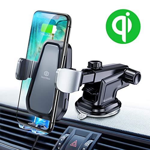 Wireless Car Charger Phone Mount Holder -$18.47(74% Off)