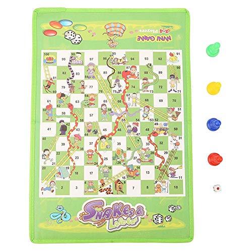 Educatief kinderen Kinderspeelgoed Interessant bordspelset Draagbaar vliegschaakspeelgoed Vliegtuigschaak Educatief bordspel voor 2-6 spelers Geschikt voor jaren 4+