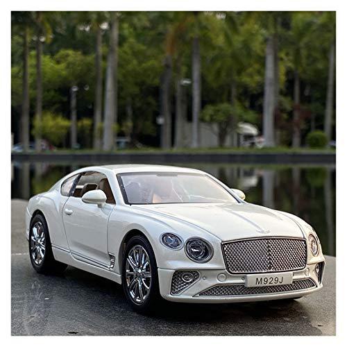 GYXY Fundición Coche 1:24 para Bentleys Continental GT Modelo De Automóvil Modelo Aleación Die-See Die-Modelo T-Oy Simulación Modelo De Automóvil Sound and Light Children's T-Oy (Color : 3)