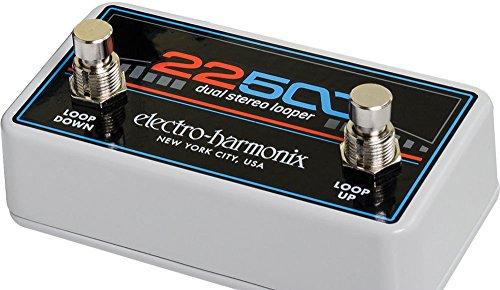 Electro Harmonix 665230efecto de guitarra eléctrica con sintetizador Filtro 22500Loop Foot Control
