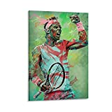 WSXDD Rafael Nadal Poster Tennis Bild Wanddekoration
