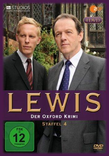 Lewis - Der Oxford Krimi: Staffel 4 [4 DVDs]