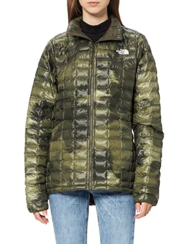 The North Face W Eco Tball Jkt - Chaqueta Cortavientos para Mujer Camouflageprint S