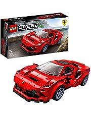 LEGO Speed Champions Ferrari F8 Tributo Çocuklar İçin Oyuncak Araba Ve Sürücü Minifigür, 275 Parça
