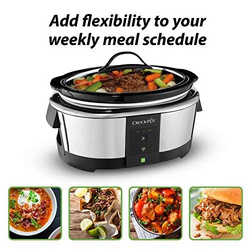 Product Image 12: Crock-Pot 6-Quart WeMo-Enabled Smart Slow Cooker, Stainless Steel