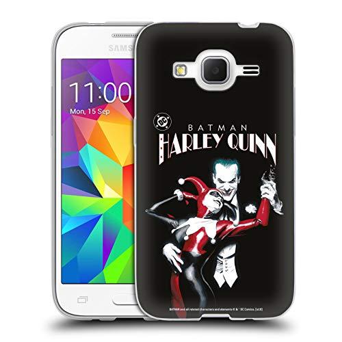Head Case Designs Ufficiale Joker Batman: Harley Quinn 1 Arte Personaggi Cover in Morbido Gel Compatibile con Samsung Galaxy Core Prime
