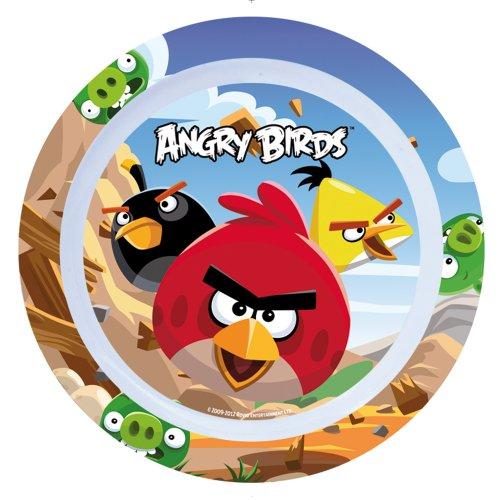 Stor 37192 - Plato de melamina, diseño Angry Birds