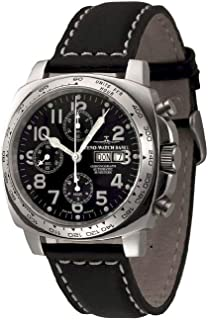 Zeno - Watch Reloj Mujer - Square Pilot Chrono Tachymeter - 3557TVDDT-a1