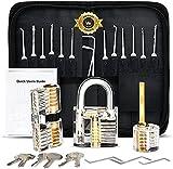 Lock 3 17 Pieces Professional Handle Tool Set with Black Handbag