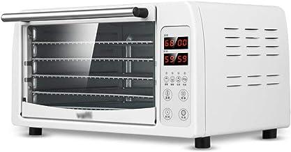 Déshydrateur de Nourriture Rectangulaire, Thermostat Réglable, Minuterie Programmable, Séchoir à Fruits, Légumes et Viand...