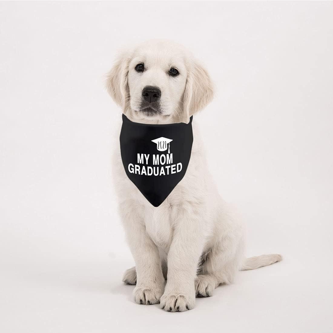 Bandanas Pet Supplies 2 Pack Dog Bandana Graduation Announcement ...