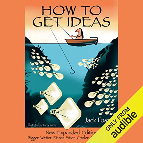 Page de couverture de How to Get Ideas