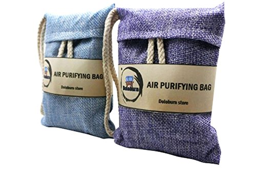 Best Prices! Clearance Sale - Doloburn Natural Auto Air Purifying Bamboo Charcoal Bags, Air Freshene...