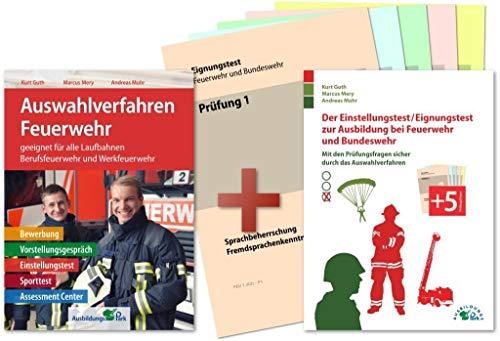 Auswahlverfahren und Einstellungstest Feuerwehr – alles in einem Paket: Bewerbung, Vorstellungsgespräch, Eignungstest, Sporttest, Assessment Center | Geeignet für alle Laufbahnen!