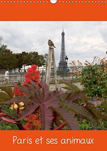 Paris et Ses Animaux Calendrier Mural 2018 Din A3 Vertical: PHOTOS DE PARIS AVEC SES OISEA