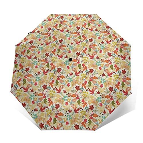 感謝祭のファブリック 自動開閉式折りたたみ傘 ワンタッチ 折りたたみ傘 耐強風撥水 大きいサイズ 雨傘 日傘 持ち運びが簡単 おしゃれ 個性 晴雨兼用