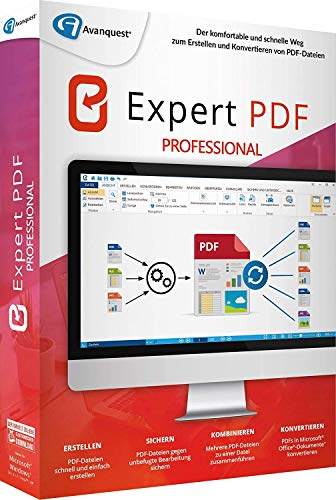 Avanquest Expert PDF 14 Professional CD/DVD Version inkl. Privacy Suite 18