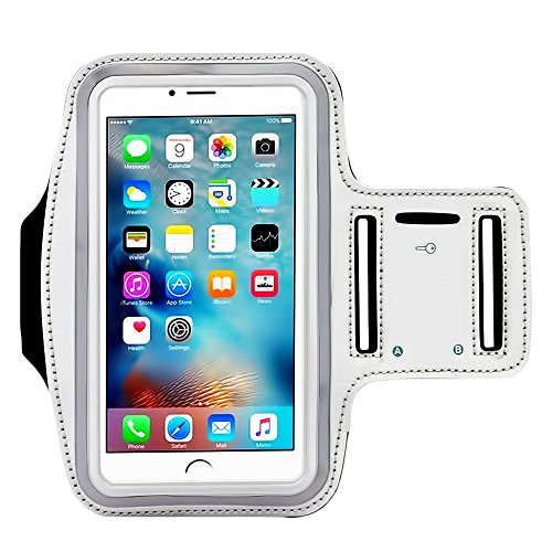 Price comparison product image [1 Pack]Premium Water Resistant Sports Armband,  CaseHQ with Key Holder Running for iPhone 7 6 6S Plus, Galaxy S6 / S5 S7 iPhone 6s / 6 7 plus(5.5 Inch) with Water Resitant Extra Extension Band