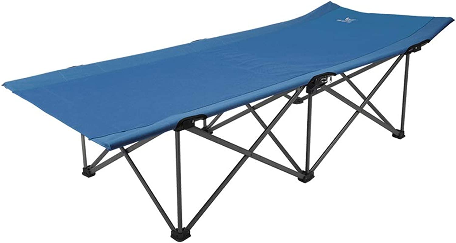 Lunch Break Folding Bed, Portable Outdoor Camp Bed, Compact for Office Nap Bed  Comfortable, Weight Endurance 286 lbs