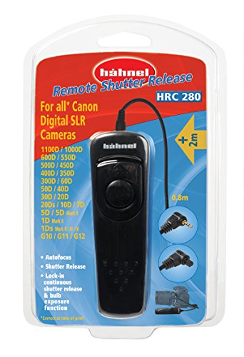 Hahnel HL-HRC80 Wired Camera Remote, Black