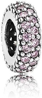 Pandora Women's Silver Pave Inspiration Spacer Charm - 791359PCZ