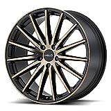 HELO HE894 Satin Black Dark Tint Wheel Chromium (hexavalent compounds) (18 x 8. inches /5 x 72 mm, 38 mm Offset)