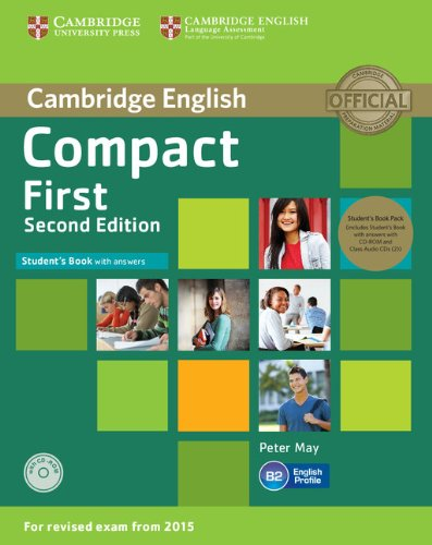 Compact First Student's Book Pack (Student's Book with Answers with CD-ROM and Class Audio CDs(2)) [Lingua inglese]