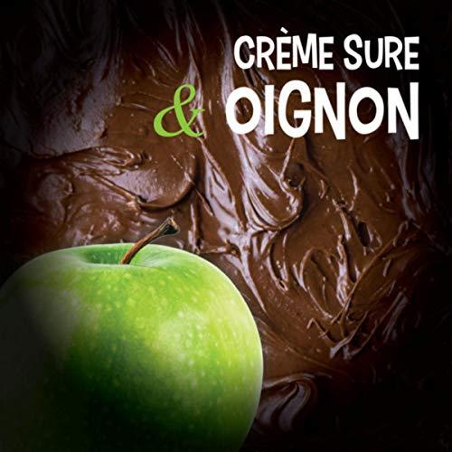 Crème sure et oignon
