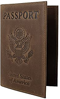 Best brown leather passport holder Reviews