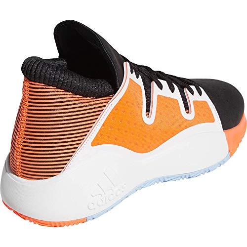 Adidas Pro Vision, Zapatillas de Baloncesto Hombre, Multicolor (Negbás/Ftwbla/Coalre 000), 48 EU ⭐